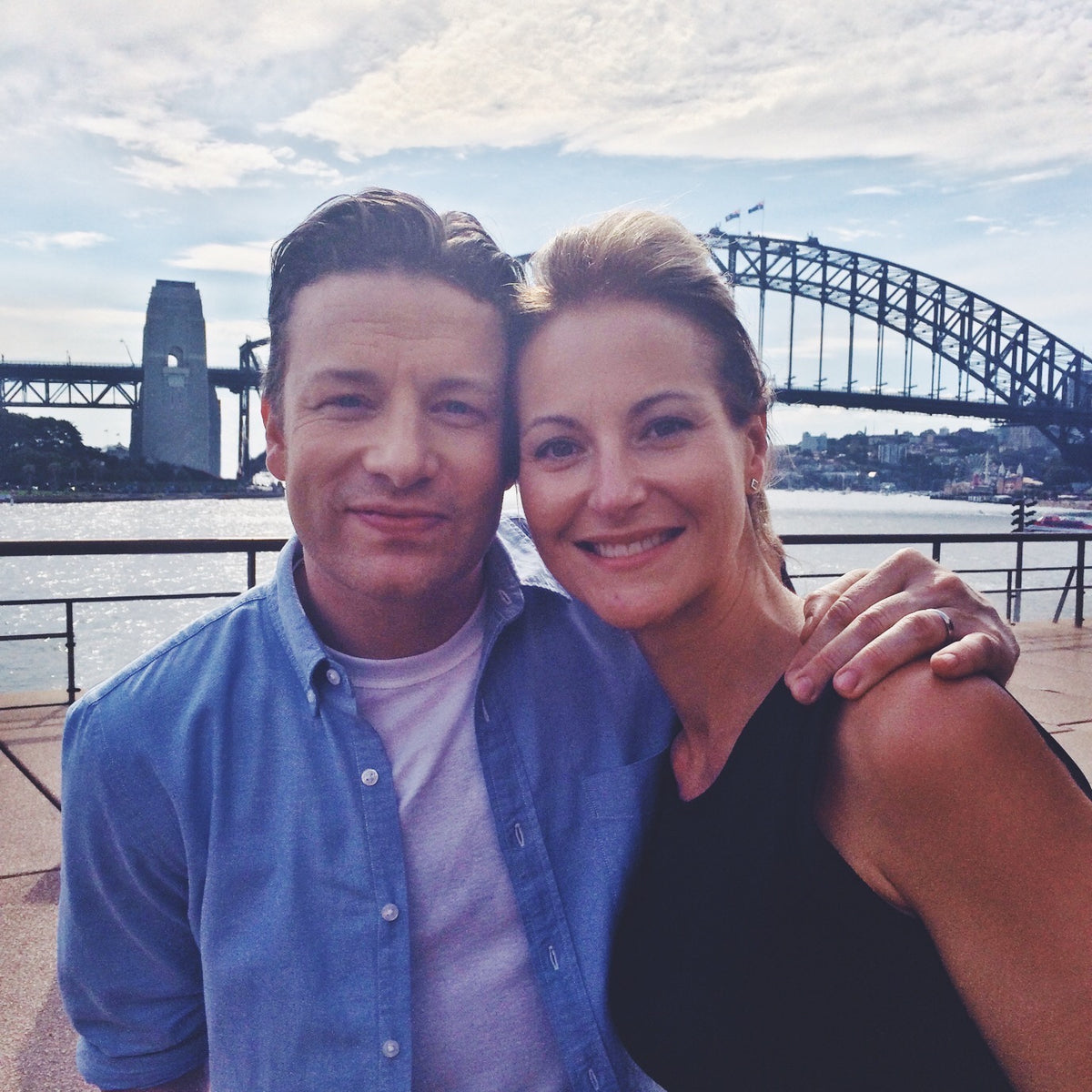 Jamie Oliver Dani Stevens food chef cook experts Australia