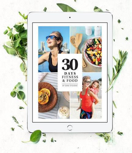30 Days of Fitness and Food