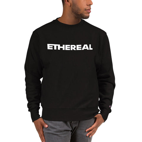 Ethereal Bold Champion Sweatshirt