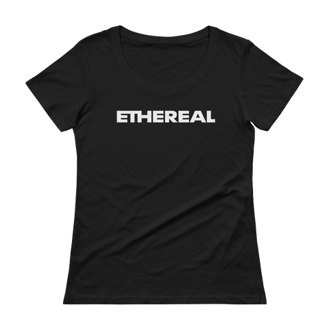 Ethereal Bold Ladies' Scoopneck T-Shirt