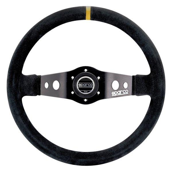 Sparco® Racing Gear Sparco® - 2-Spoke R215 Series Competition Steering Wheel - AutoPartsDistrict