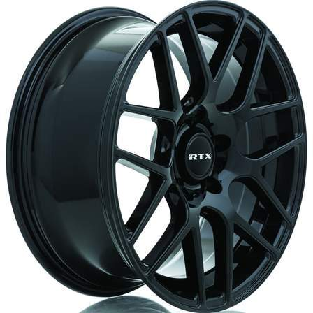 RTX Alloy Wheels ENVY 20X8.5 5-108 38P C63.4 GLOSS BLACK - AutoPartsDistrict