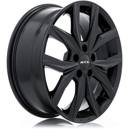 RTX Alloy Wheels ESTATE 17X7 5-114.3 48P C56.1 SATIN BLACK - AutoPartsDistrict