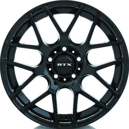 RTX Alloy Wheels ENVY 19X8.5 5-112 40P C66.6 GLOSS BLACK - AutoPartsDistrict