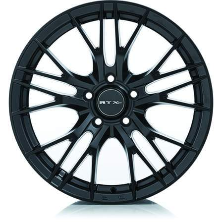 RTX Alloy Wheels VERTEX 16X7 5-100 35P C54.1 SATIN BLACK - AutoPartsDistrict