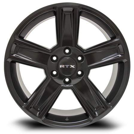 RTX Offroad Alloy Wheels GLACIER 20X8.5 5-139.7 15P 78.1 SATIN BLACK - AutoPartsDistrict