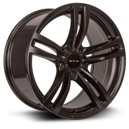 RTX OE Alloy Wheels GRAZ 18X8 5-120 35P C74.1 SATIN BLACK - AutoPartsDistrict