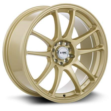RTX R-Spec Alloy Wheels STAG 17X8 5-100/114.3 35P C73.1 GOLD - AutoPartsDistrict