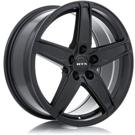 RTX Alloy Wheels FROST 17X7 5-114.3 42P C64.1 SATIN BLACK - AutoPartsDistrict