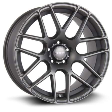 RTX Alloy Wheels ENVY 20X8.5 5-114.3 38P C73.1 MATTE GUNMETAL - AutoPartsDistrict
