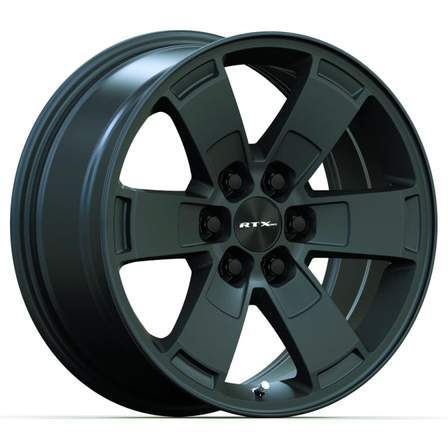 RTX Alloy Wheels DENVER 17X8 6-120 30P 67.1 SATIN BLACK - AutoPartsDistrict
