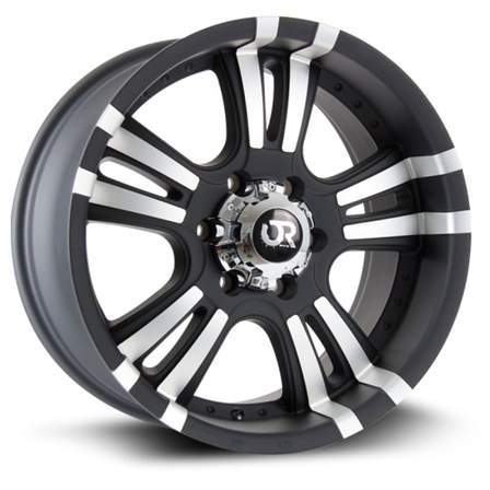 RTX Offroad Alloy Wheels ROAR II 18X9 6-139.7 25P C106.1 BLACK MCH - AutoPartsDistrict