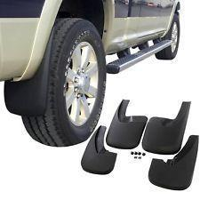 WeatherTech MF120092 - No Drill MudFlaps - Black - REAR MUD FLAPS DODGE RAM 1500 2019