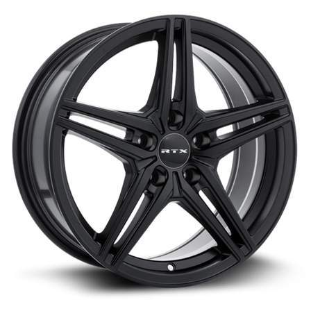 RTX Alloy Wheels BERN 17X7.5 5-108 38P C63.4 SATIN BLACK - AutoPartsDistrict