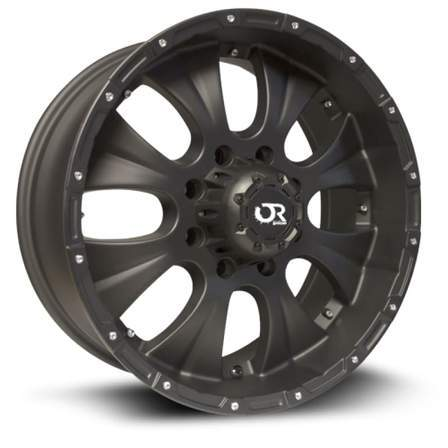 RTX Offroad Alloy Wheels CRAWLER 17X8 6-139.7 20P C108 MATTE BLACK - AutoPartsDistrict