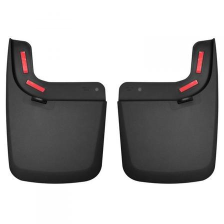 Husky Liners Muds & Splash Guard Husky Liners 59491 - Rear Mud Guards - Black - F150 RAPTOR 17-19 - AutoPartsDistrict