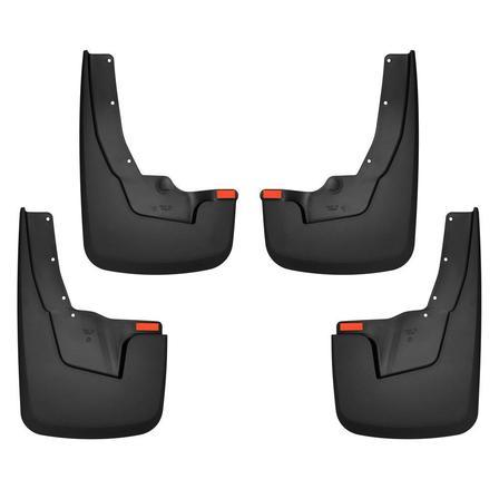 Husky Liners Muds & Splash Guard Husky Liners 58136 - Front and Rear Mud Guard Set - Black - RAM 2019 - AutoPartsDistrict