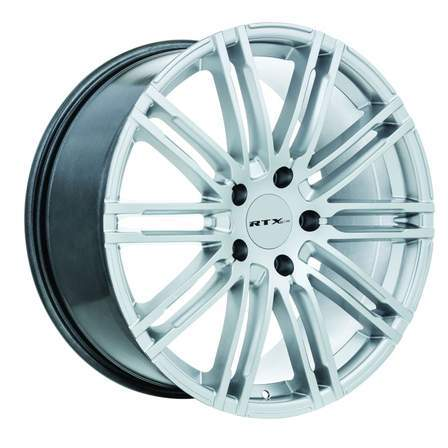 RTX Alloy Wheels TURBO 20X9 5-130 50P C71.5 HYPER SILVER - AutoPartsDistrict