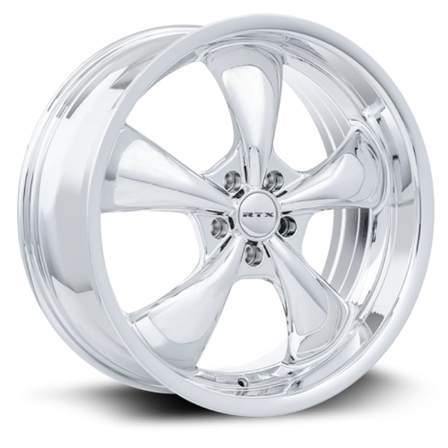 RTX Alloy Wheels GT 20X8.5 5-114.3 35P C73.1 CHROME (PVD) - AutoPartsDistrict
