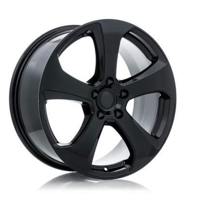 RTX Alloy Wheels MK7 18X8 5-112 45P C57.1 BLACK - AutoPartsDistrict