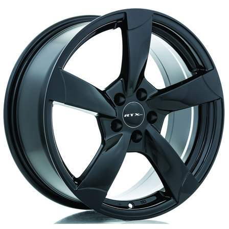 RTX OE Alloy Wheels RS2 19X8.5 5-112 45P 66.6 BLACK - AutoPartsDistrict