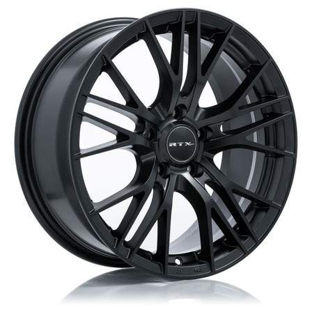 RTX Alloy Wheels VERTEX 16X7 5-105 38P C56.6 SATIN BLACK - AutoPartsDistrict