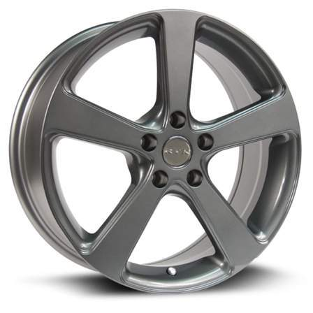 RTX Alloy Wheels MULTI 17X7 5-114.3 42P C73.1 GUNMETAL - AutoPartsDistrict