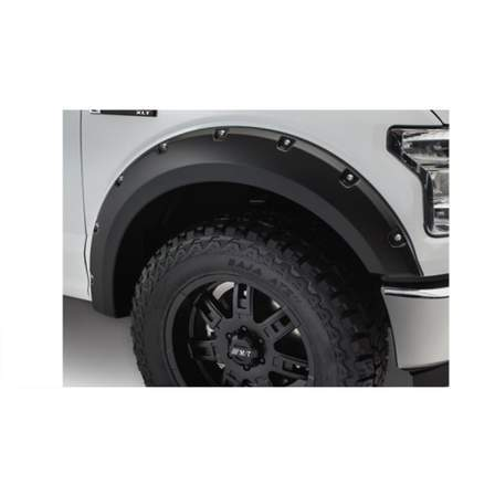 Bushwacker Rocker Panels & Fender Flares POCKET F/F FORD F150 15-17 - AutoPartsDistrict