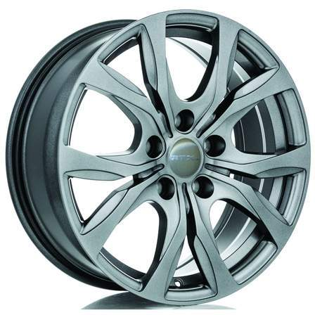 WINDSOR 18X7.5 5-127 35P C71.5 GUNMETAL