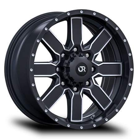 RTX Offroad Alloy Wheels STEPPE 20X9 5-139.7 0P C78.1 BLACK MCH - AutoPartsDistrict