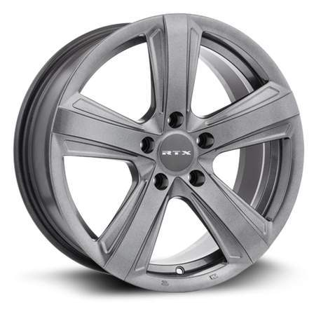 RTX Alloy Wheels SCALENE 18X8 5-105 38P C56.6 GUNMETAL - AutoPartsDistrict