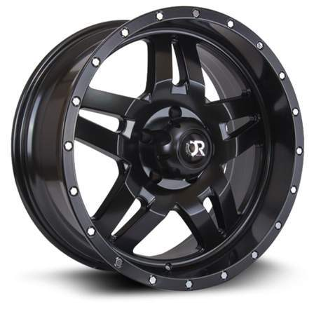 RTX Offroad Alloy Wheels MESA 20X9 6-135 15P C87.1 SATIN BLACK - AutoPartsDistrict