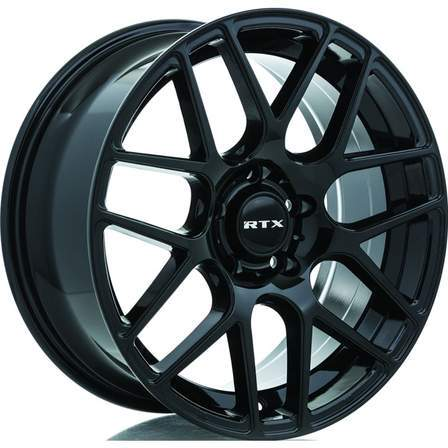 RTX Alloy Wheels ENVY 17X7.5 5-100 40P C54.1 GLOSS BLACK - AutoPartsDistrict