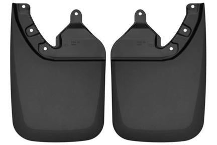 Husky Liners Muds & Splash Guard Husky Liners 57941 - Rear Mud Guards - Black - TACOMA 16-18 - AutoPartsDistrict