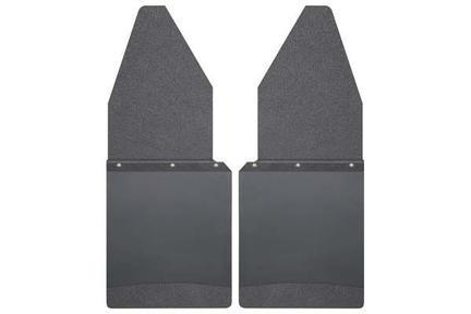 "Husky Liners Muds & Splash Guard Husky Liners 17105 - Kick Back Mud Flaps 12"" Wide - Black Top and Black Weight - F150-350 80-19 - AutoPartsDistrict"