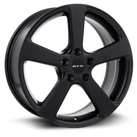 RTX Alloy Wheels MULTI 16X7 5-112 40P C57.1 SATIN BLACK - AutoPartsDistrict