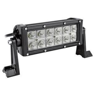 "Double Row Spot Beam LED Light Bars 7"" - 41"""