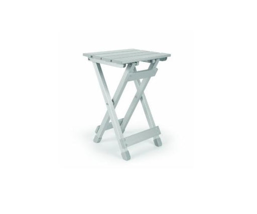 Table pliante en aluminium