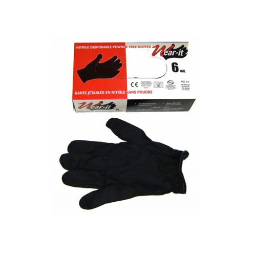 Tools District Tools NITRYLE GLOVES BLACK X-LARGE (BOX) - AutoPartsDistrict