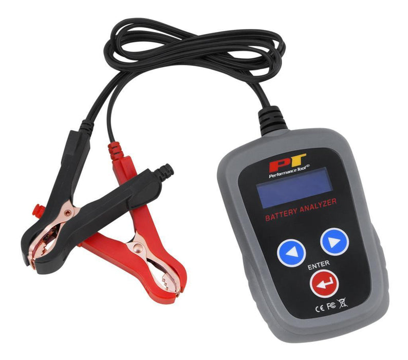 Tools District Tools DIGITAL 12V BATTERY ANALYZER - AutoPartsDistrict