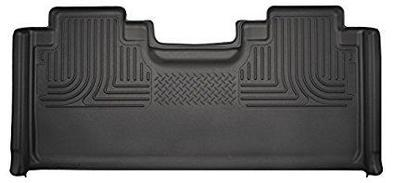 Husky Liners Molded Floor Mats Husky Liners 19361 - 2nd Seat Floor Liner (Full Coverage) - Weatherbeater - Black -F150 S.CAB 15-18 - AutoPartsDistrict