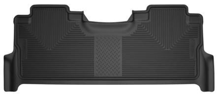 Husky Liners Molded Floor Mats Husky Liners 53381 - 2nd Seat Floor Liner (with factory box) - X-act Contour - Black - F250-450 SD CREW CAB 18 - AutoPartsDistrict