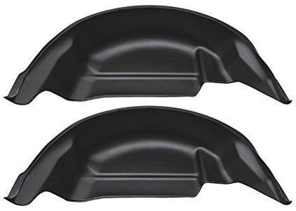 Husky Liners Rocker Panels & Fender Flares Husky Liners 79121 - Rear Wheel Well Guards - Black - F150 15-18 - AutoPartsDistrict