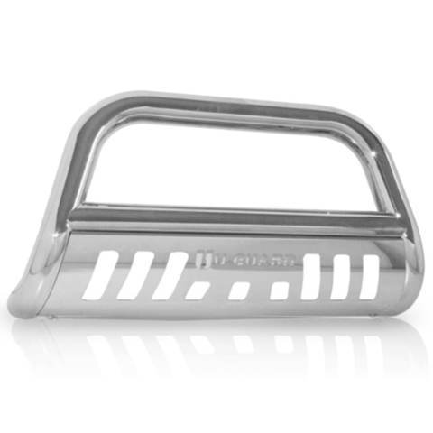 U-GUARD Bull Bar Bull Bar - (Stainless Steel) - SILVERADO/SIERRA HD 2001-2007 - AutoPartsDistrict