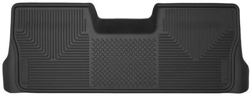Husky Liners Molded Floor Mats Husky Liners 53411 - 2nd Seat Floor Liner (Footwell Coverage) - X-act Contour - Black - F150 09-14 - AutoPartsDistrict