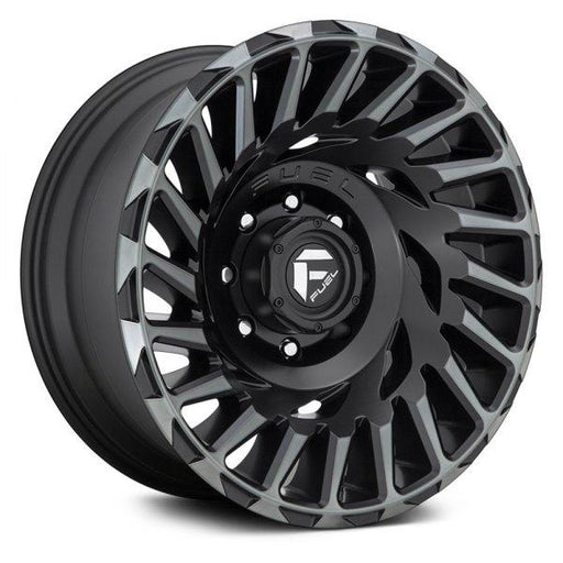 Fuel Custom Wheels FUEL® - D683 CYCLONE 1PC Matte Black with Machined Face and Double Dark Tint - AutoPartsDistrict
