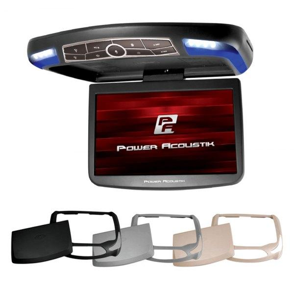 "Power Acoustik® Car Video Power Acoustik® - 13"" Flip Down LCD Monitor with Built-In DVD Player, MHL MobileLink Input and 3 Housing Options - AutoPartsDistrict"