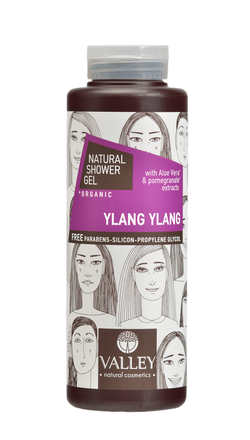 SOWER GEL  YLANG YLANG