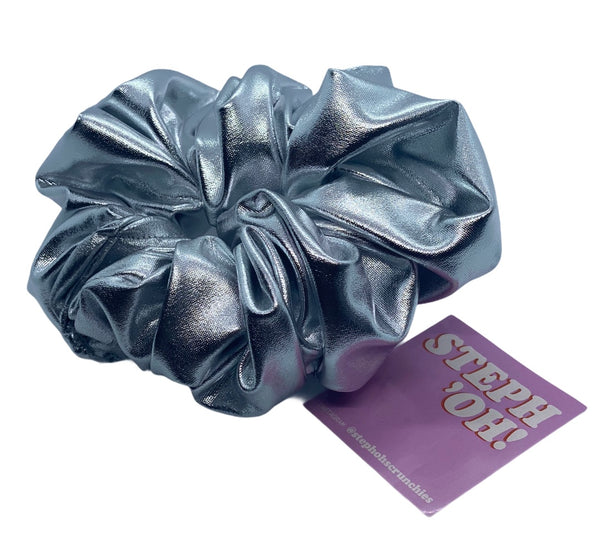 Hair scrunchies STEPH!'OH HANDMADE ,RECYCLED AND UPCYCLED MATERIALS