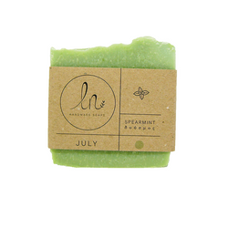 THE SPEARMINT SOAP - JULY